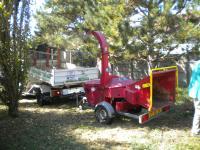 Broyage des branches