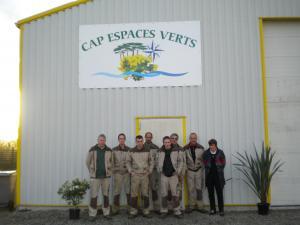L'équipe Cap Espaces Verts à votre service